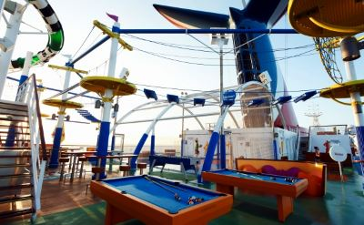 Carnival Sunshine activities