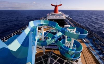 Carnival Sunshine waterslide